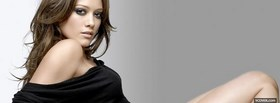 free hilary duff brown hairstyle facebook cover