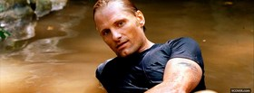 wet viggo mortensen facebook cover