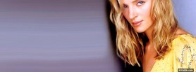 celebrity cool uma thurman facebook cover