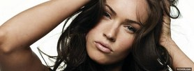 attractive celebrity megan fox facebook cover