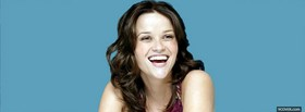 reese witherspoon cute laughing facebook cover