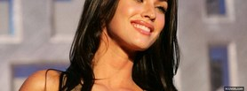 free celebrity smile of megan fox facebook cover