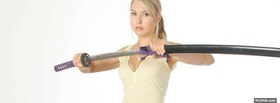 sarah carter holding sword facebook cover