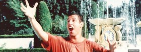 celebrity adam sandler in billy madison facebook cover