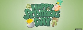 st patric earth day facebook cover