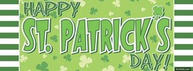 big happy st patricks day facebook cover