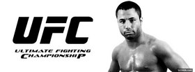 free black and white ufc facebook cover