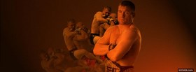 free matt hughes fighter facebook cover