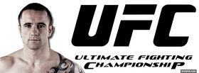 free ufc black logo mma facebook cover