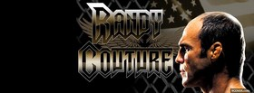 free randy couture fighter facebook cover