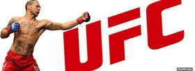 screaming ufc fighter facebook cover