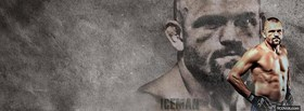 mma ufc fighter facebook cover