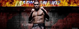 free mark munoz fighter facebook cover