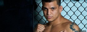 free ufc fighter efrain escudero facebook cover