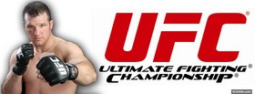 free matt hamill red ufc logo facebook cover