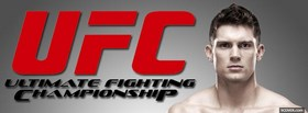 free ufc logo red facebook cover