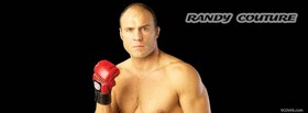 free randy couture mma fighter facebook cover