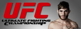 free mma fighter red ufc facebook cover