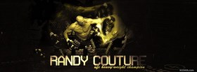free randy couture heavy weight champion facebook cover