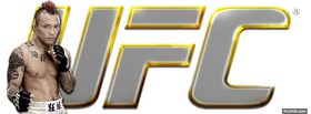 free ufc yellow logo mma facebook cover