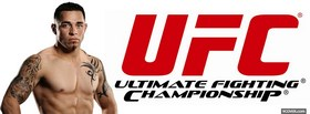 free daniel pineda red ufc facebook cover