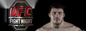 free fight night mma fighter facebook cover