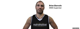 free brian ebersole mma superstar facebook cover