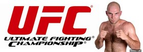 free red ufc logo facebook cover
