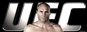free randy couture face ufc facebook cover