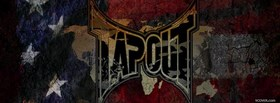 tapout american flag facebook cover