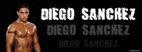 free diego sanchez fighter facebook cover