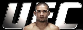 free diego brandao mma fighter facebook cover