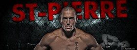 free st pierre ufc facebook cover