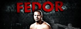 free fedor ufc fighter facebook cover