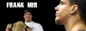 free frank mir mma fighter facebook cover