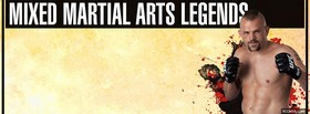 free mixed martial arts legends facebook cover