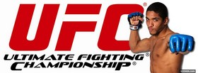 free ufc blue gloves facebook cover