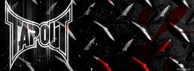 tapout logo facebook cover