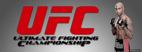 free thiago silva red ufc logo facebook cover