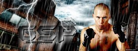 free gsp ufc fighter facebook cover