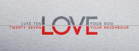 free love your god facebook cover