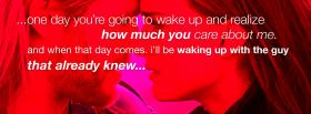 realize how much you care facebook cover