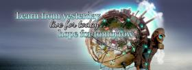 hope for tomorrow quotes facebook cover