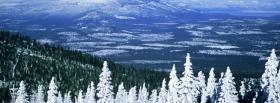 nature admirable winter view facebook cover