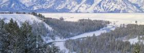 free nature winter landscape facebook cover