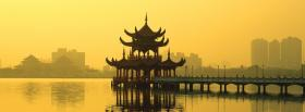 free nature lotus lake taiwan facebook cover