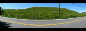 free nature panoramic road facebook cover
