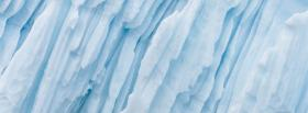 free nature white iceberg facebook cover