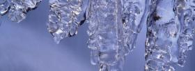 free nature winters icicle facebook cover