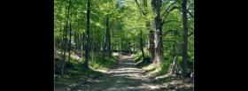 free trail in the forest facebook cover